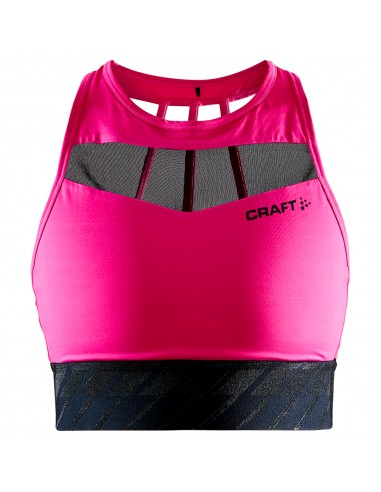 CHARGE CROPPED MESH SINGLET W